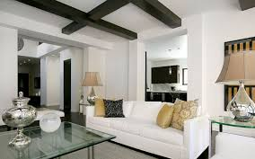 Modern Black And White Living Room Grey And White Living Rooms Interior Elegant Chandelier And White