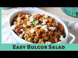 turkish bulgur salad bulgar wheat