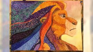 """<b>Картина</b> """"<b>Lion king</b> Mufasa"""" купить в Санкт-Петербурге   Хобби и ..."""