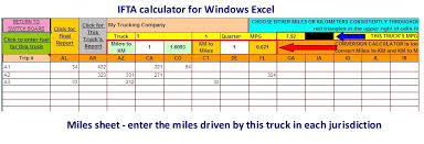 Taxes Spreadsheet Microsoft Excel Spreadsheet For Calculating Ifta Fuel Tax