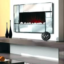 vertical electric fireplace bathroom wall mounted uk