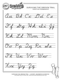 Handwriting Letters Worksheets Worksheet Uppercase Cursive Alphabet ...