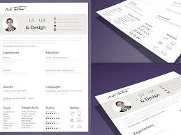 App Resume Resume Cv Template Sketch Freebie Download Free Resource