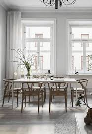 grey dining room it is not boring at all