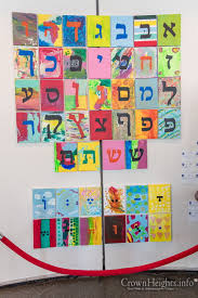 New Aleph Beis Posters For Pre Schools Crownheights Info