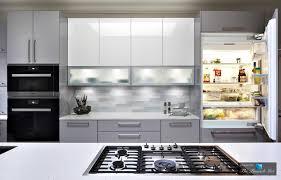 High Gloss Kitchen Cabinets Clean Seamless And Serene Modern High Gloss Kitchen Design