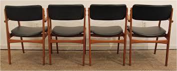 teak dining chair ideas set four erik buch for o d mobler teak dining chairs