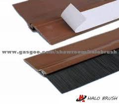 door weather stripping bottom. bottom door seal brush weather stripping industry seals strip .