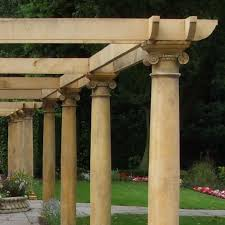 garden pillars. Interesting Garden Garden Columns And Pillars In I