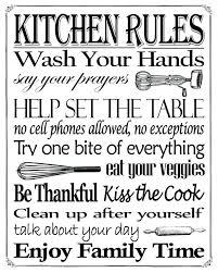 Kitchen Rules Sign Kitchen Rules Sign Printable U2013 Deredbno Cell