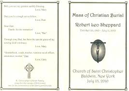 Funeral Mass Program Funeral Mass Program Catholic Template Awesome Editable Shots Sweet