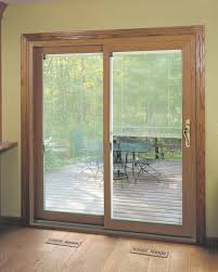 slidingdoorwithblinds jpg mini blinds between the glass