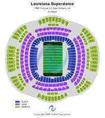 Seating Chart Superdome New Orleans Mercedes Benz Superdome Tickets And Mercedes Benz Superdome