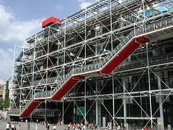 famous modern architecture buildings. Wonderful Architecture Centre Pompidou  Intended Famous Modern Architecture Buildings