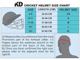 Kd Cricket Helmet Stainless Steel Visor Protector Original Helmet Size Xs To Xl