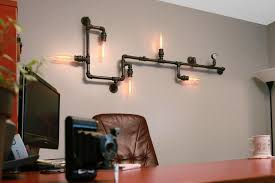 industrial lighting diy. this industrial wall light is flexible and will look great in any office retail space lighting diy