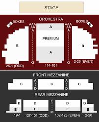 Waitress Seating Chart Brooks Atkinson Theater New York Ny Seating Chart