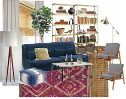 100 wool gy moroccan style rug from cost plus world market i thought it looked great with the navy blue sofa in their mocked up living room
