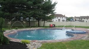 Backyard Pool Designs Mesmerizing Landscaping Company NJ PA Custom Pools Walkways Patios