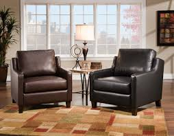 black or brown bonded leather modern accent chair in black leather accent chair accent chair living room