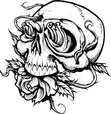 Small Picture Scary Halloween Coloring Pages Best Coloring Page