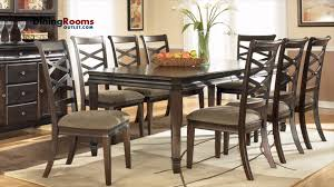 dining room table ashley furniture home:  chairs dining table ashley hayley  pc rectangular extension dining table set youtube ashley dining room