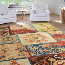 extremely sunflower area rug rugs decoration pleasurable inspiring french country kitchen rustic wildlife mat sets patchwork cowhide company western dining