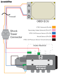 d16z6 distributor wiring diagram coil wiring diagram \u2022 wiring obd0 wiring diagram at Obd0 To Obd1 Conversion Harness Wiring Diagram
