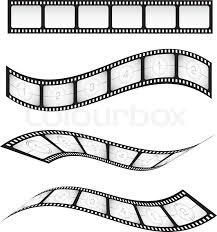 Film Strips Pictures Film Strips Stock Vector Colourbox