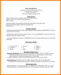 14 Entry Level Electrical Engineering Resume Waa Mood