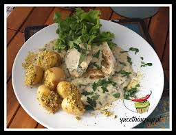 cod in parsley sauce e things up