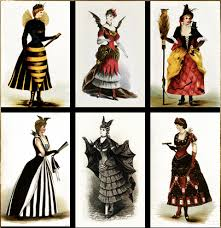 Via Gravesandghouls Tumblr, Victorian Costumes C. 1880s (Source: Vintagegal)