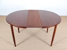 mid century danish round dining table 4 6 seats in teak