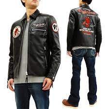 description tedman men s leather motorcycle jacket with embroidery and patch tdrj 11000