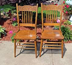 antique country oak chairs antique side chairs cane chairs beautiful pair of old pressed back wooden victorian dining chairs