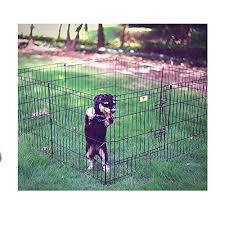 large dog exercise pen. Beautiful Dog Dog Exercise Pen 24 Inch With Door Black Large Pet Portable 8 Panels Kennel  Playpen Lightweight U0026 EBook By OISTRIA With P
