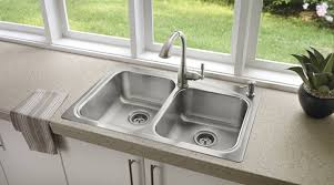 undermount vs drop in kitchen sink top mount sinks simple small round corner modern minimalist double
