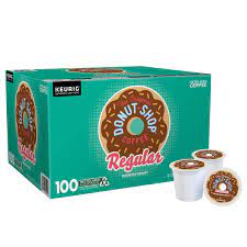 Not too harsh, not too bitter; The Original Donut Shop Coffee K Cup Pod 100 Count