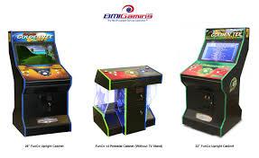 4 Player Arcade Cabinet Kit Fun Company Funco Video Arcade Games Catalog Factory Direct