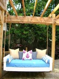 pallet swing bed diy tree bed swing custom built twin size indoor outdoor porch daybed swing bed mattress covers small home interior decoration ideas