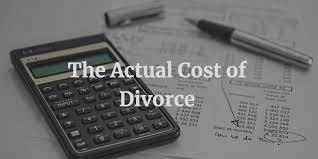 the actual costs of divorce