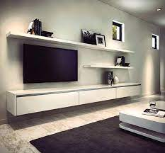 floating tv wall unit mounted uk clean