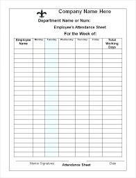 Word Spreadsheet Templates School Attendance Record Template Attendance Spreadsheet Templates