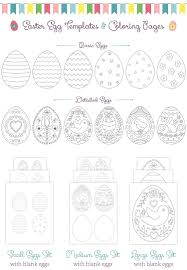 easter egg hunt template chocolate treasure in treeoring page g7x beautiful easter egg hunt