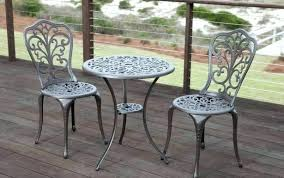 cast aluminium garden side table aluminum outdoor sets chairs bistro set chair setting winning al