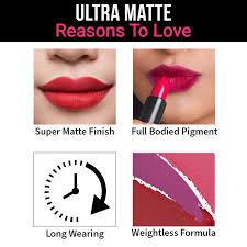 nykaa ultra matte lipstick jane 11