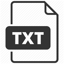 Text Document Document File Types By Laura Reen