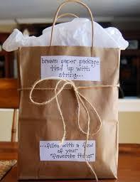 5diy paper gifts brown paper bag