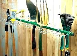 garage garden tool storage ideas hangers for garag