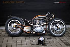 backstreet buckets sr400 chopper bikermetric